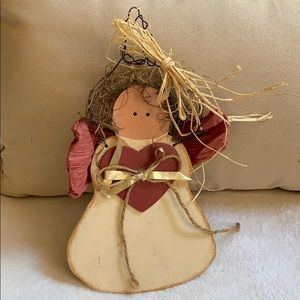 "8"" Angel 😇 vintage wooden Christmas decoration"
